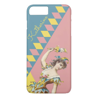 Personalised Harlequin phone case