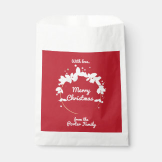 Personalised Holiday Favour Bag Favour Bags