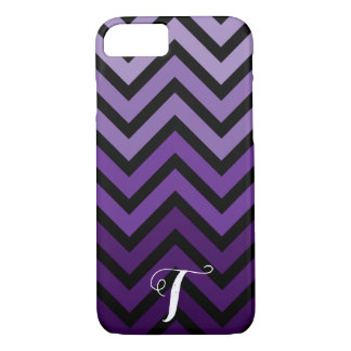 Personalised Initial Chevron Phone Case