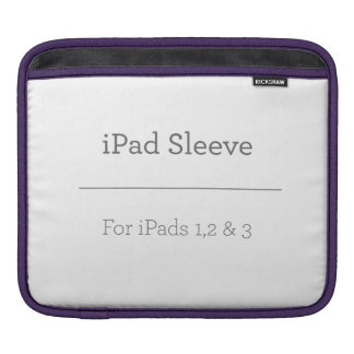 Personalised iPad Sleeve