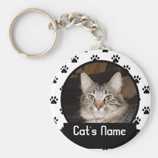 Personalised Keychain of Your Pet Cat