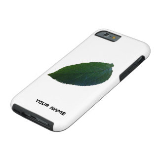 Personalised Leaf Tough iPhone 6 Case