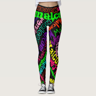 Personalised Leggings Custom Name