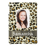 Personalised leopard print
