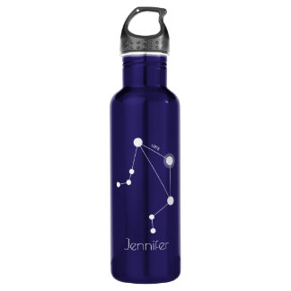 Personalised Libra Zodiac Constellation 710 Ml Water Bottle