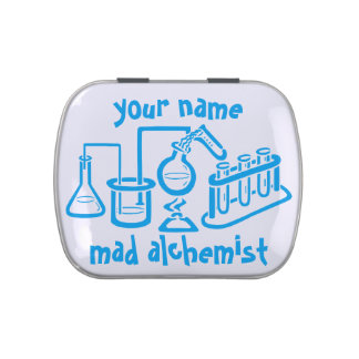 Personalised Mad Alchemist Jelly Belly Tin