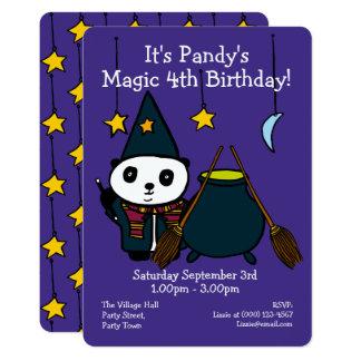 Personalised Magic Birthday Party Invitation