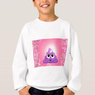 Personalised Magical Unicorn Poop Emoji Sweatshirt