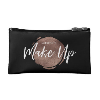 Personalised Make up foil spot cosmetics case