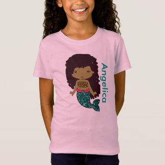 Personalised Mermaid Girl's shirt