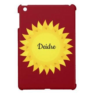 Personalised mini iPad case