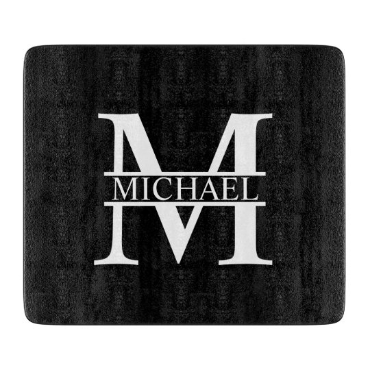 Personalised Monogram and Name Cutting Board