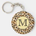 Personalised Monogram Leopard Print Pattern.
