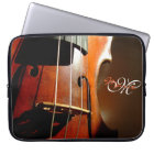 Personalised Monogram Music Violin Laptop Sleeve