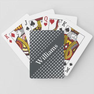 Personalised Monogram Playing Cards