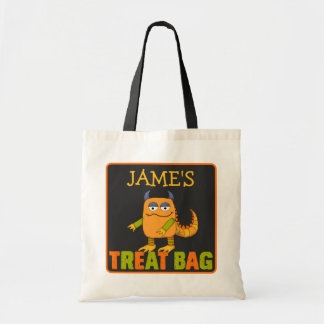 Personalised Monster Halloween Treat Bag