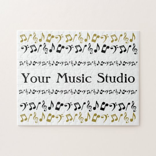 Personalised Music Puzzle
