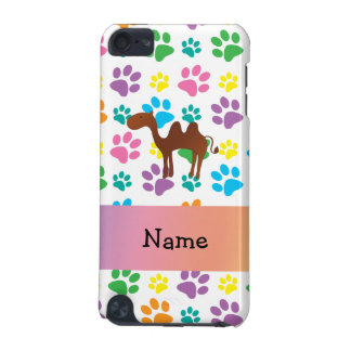 Personalised name camel rainbow paws iPod touch 5G cover