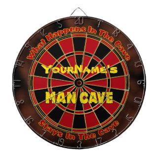 Personalised Name Man Cave Dartboard