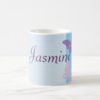 Personalised Name Mug - Butterflies