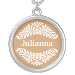 Personalised Name Pendant :: Gold