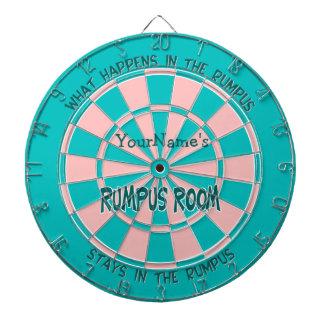 Personalised Name Rumpus Room Dartboard