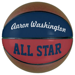 Personalised Name Sports Basketball Gift