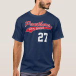 Personalised Navy Panther t-shirt