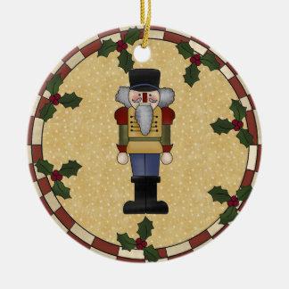 Personalised Nutcracker Christmas Ornament