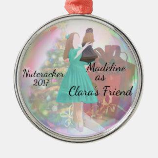 Personalised Nutcracker Ornament - Clara's Friend