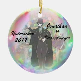 Personalised Nutcracker Ornament - Drosselmeyer