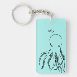 Personalised Octopus Key Ring