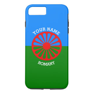 Personalised Official Romany gypsy travellers flag iPhone 7 Plus Case