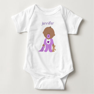 Personalised One Piece Tee with your Baby's Name