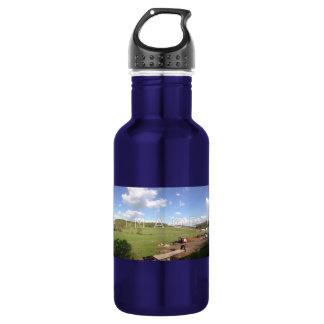 Personalised Panoramic Photo Aluminium 532 Ml Water Bottle