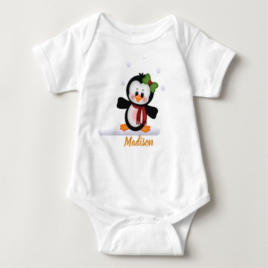 Personalised Penguin T Shirt