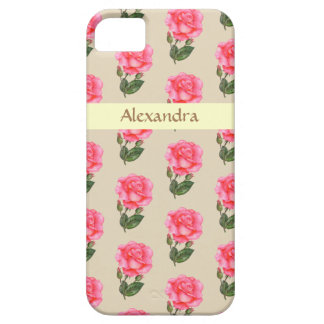 Personalised Phone Case Pink Roses