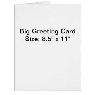 Personalised Photo Big Greeting Card