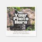 Personalised Photo Custom Digital Picture Imprint Disposable Serviette