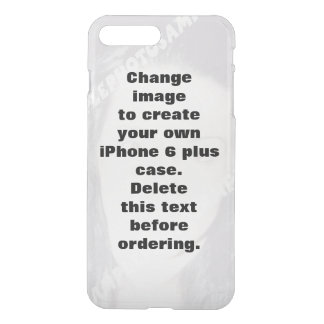 Personalised photo iPhone7 plus case. iPhone 8 Plus/7 Plus Case
