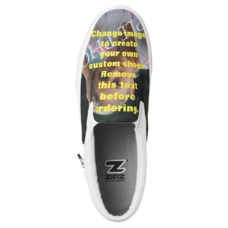 Personalised photo shoes. Create your own! Slip-On Shoes