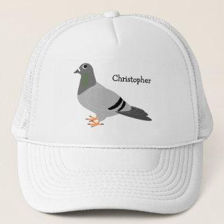 Personalised Pigeon Design Trucker Hat