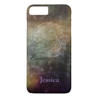 Personalised Pisces Grunge Zodiac Phone Case