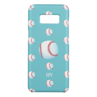 """Personalised """"Pitch Perfect Baseball"""" (robin egg) Case-Mate Samsung Galaxy S8 Case"""