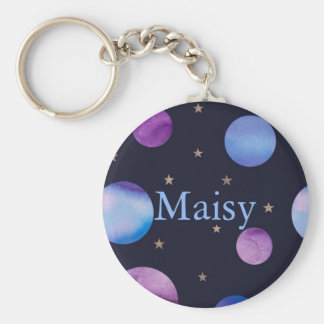 Personalised Planets Key Ring