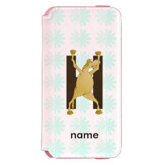 Personalised Pony Monogram H Incipio Watson™ iPhone 6 Wallet Case