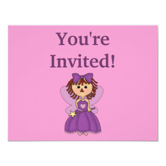 Personalised Princess Birthday invitations
