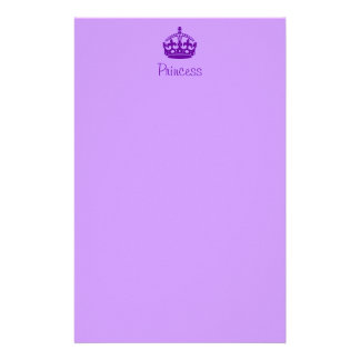 Personalised Princess Stationery