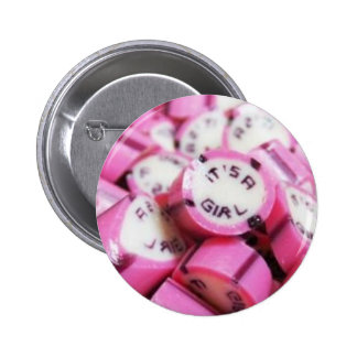 Personalised products for baptism sugar 6 cm round badge