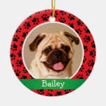 Personalised Puppy Dog Pet Photo Ornament